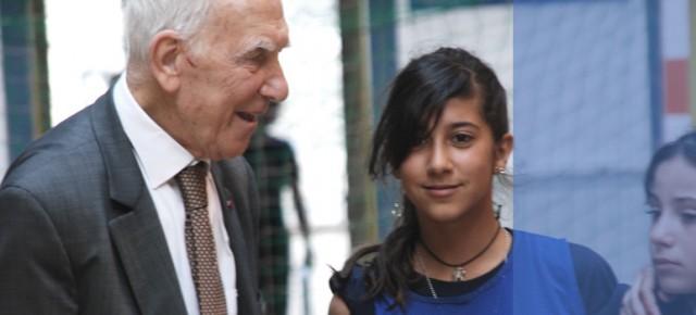 Stéphane Hessel - Ambassadeur de France, Président d'Honneur de la Voix De l'Enfant
