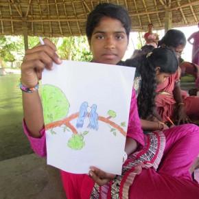 Réponse à la 2ème question par les enfants de l'Association Volontariat en Inde !