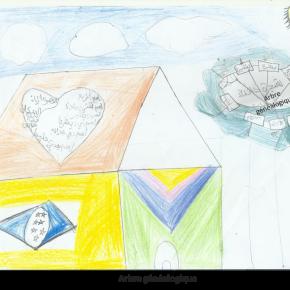 """#1 Dessins des enfants de BAYTI  sur """"le droit à l'identité"""" et """"le droit à la famille"""""""
