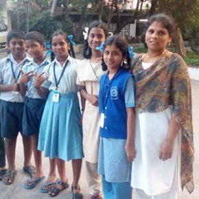 #1 Les enfants de l'association Volontariat, en pleine réflexion sur le Droit à l'Identité et le Droit à la Famille !