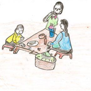 #1 Les dessins lumineux des enfants de la délégation Enfance Partenariat Vietnam nous éclairent sur le Droit à Vivre en Famille